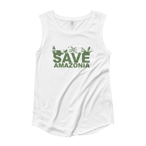 Ladies' 'Save Amazonia' Tank