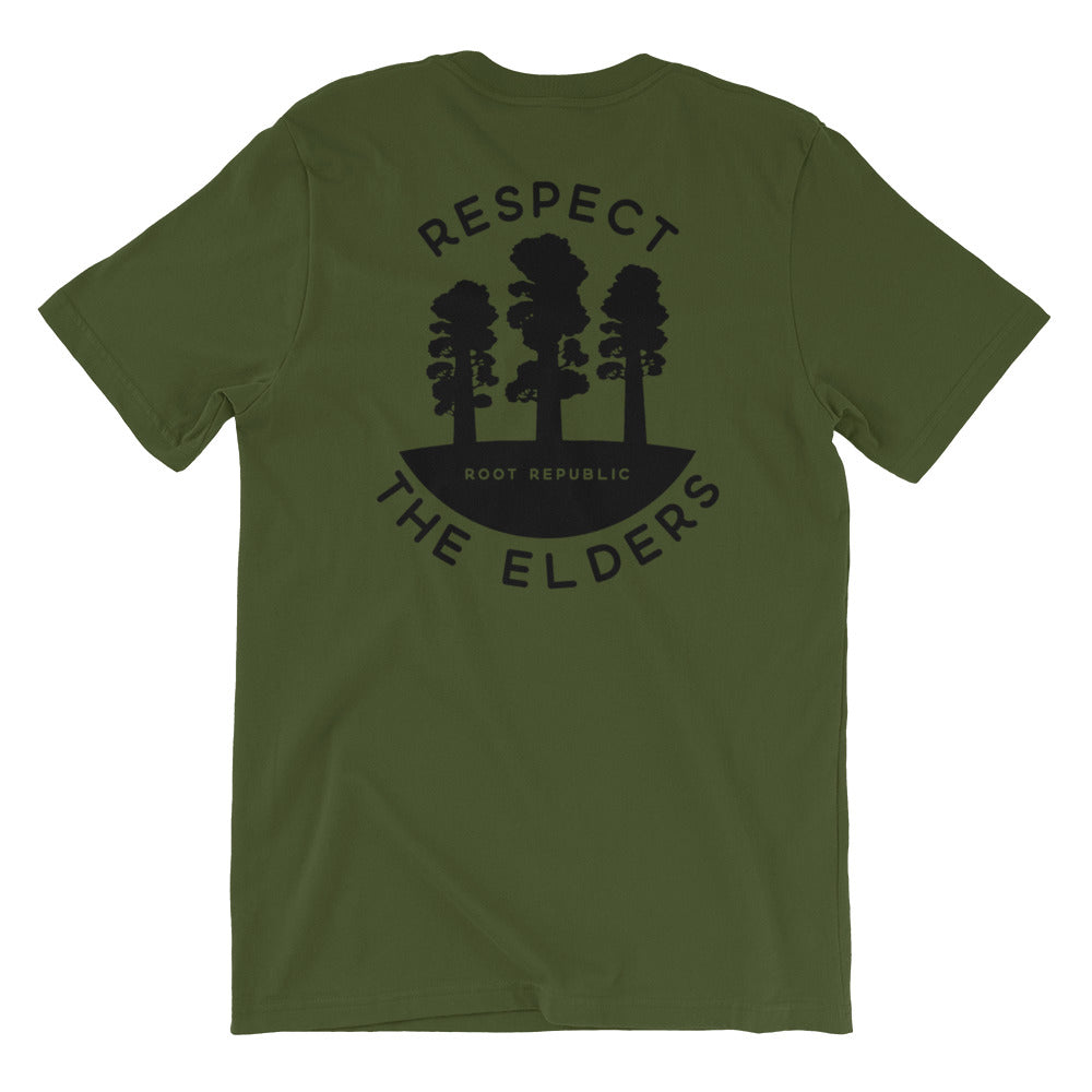 """Respect the Elders"" Reforestation Tee"