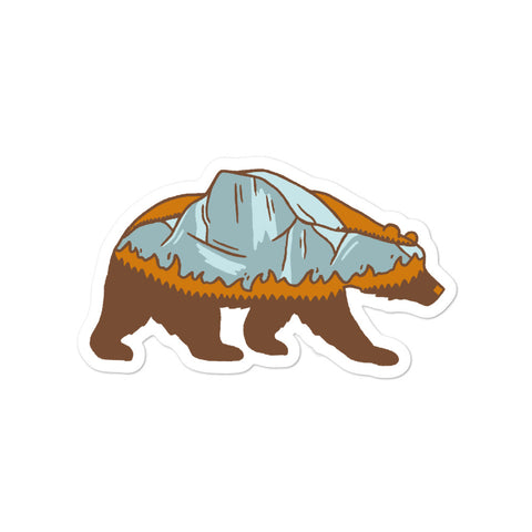 Yosemite Bear - CA Wildfire Relief Sticker
