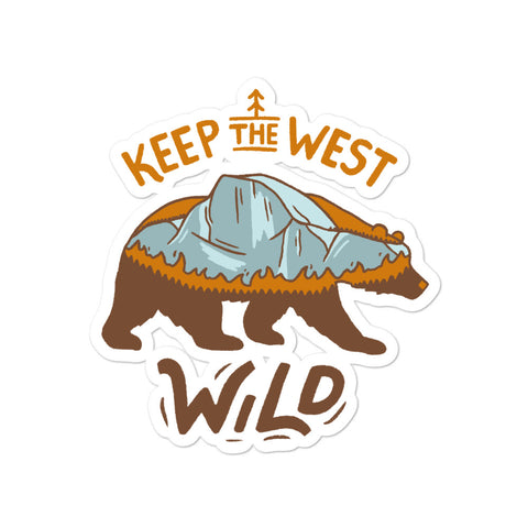 Keep the West Wild - CA Wildfire Relief Sticker