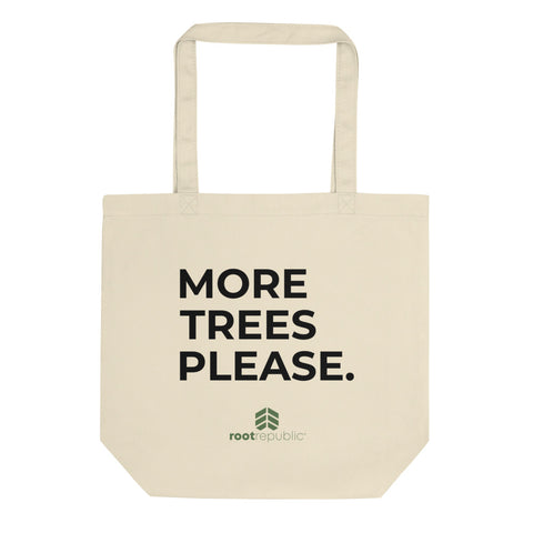 "Eco ""More Trees Please"" Tote Bag"