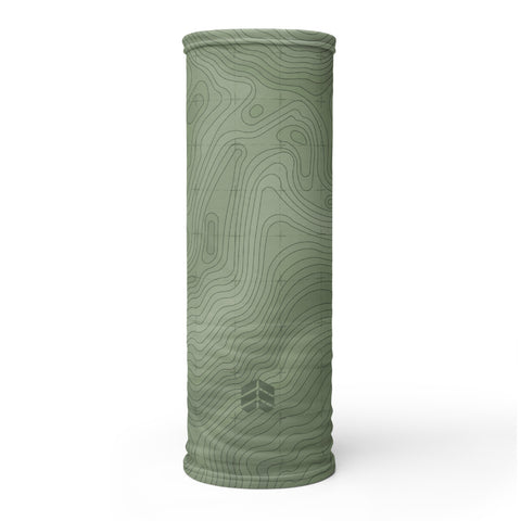 Topo Face Cover (Forest)