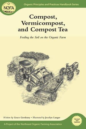 Compost, Vermicompost, and Compost Tea: Feeding the Soil on the Organic Farm (Organic Principles and Practices Handbook) Paperback by Grace Gershuny