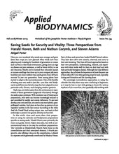 "Periodical ""Applied Biodynamics"" Back Issues 51-94"