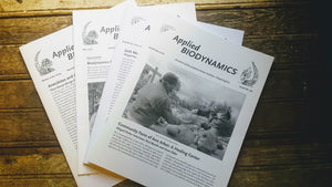 "Newsletter ""Applied Biodynamics"" Back Issues 51-92"