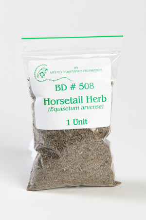 BD #508 Horsetail Herb (Equisetum arvense) BD Spray Preparation