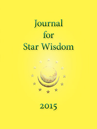 Journal for Star Wisdom 2015 by Robert Powell