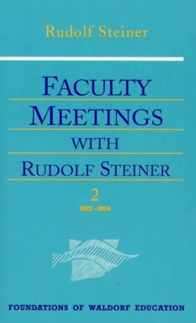 Faculty Meetings with Rudolf Steiner Vol. 2 by Rudolf Steiner