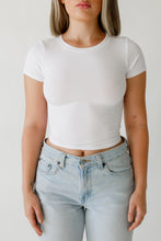 Load image into Gallery viewer, Sideline Short Sleeve in White