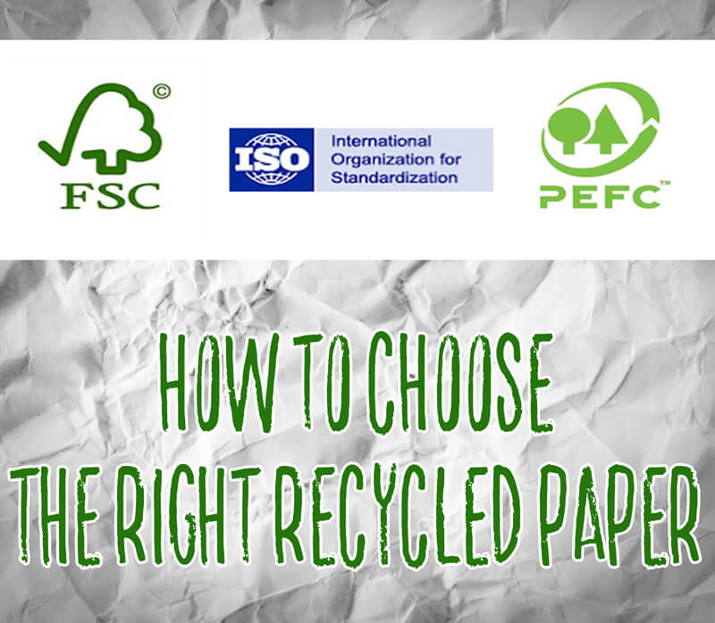 Choosing the Right Recycled Paper