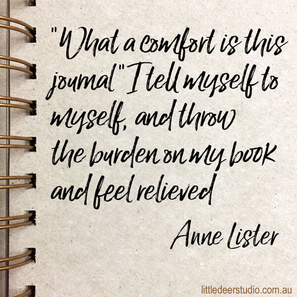 Anne Lister quote