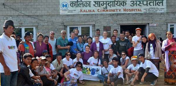 Ausnep team in Nepal