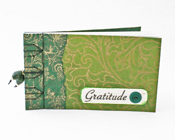 green gratitude journal