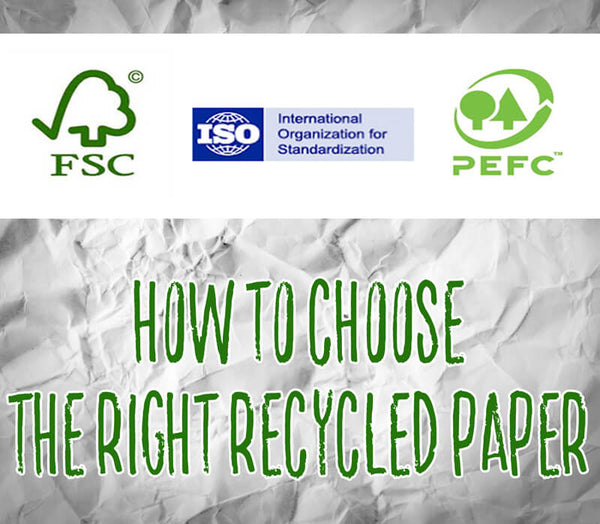 Choosing the Right Recycled Paper title image