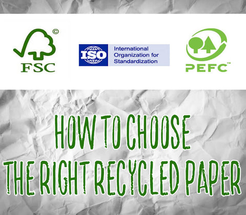 How to Choose the Right Recycled Paper
