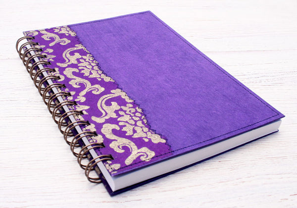 Purple Royale notebook