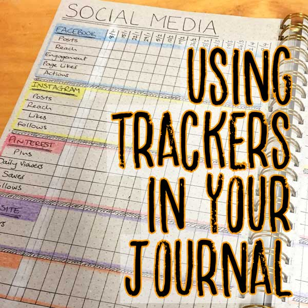 using trackers in your journal title image