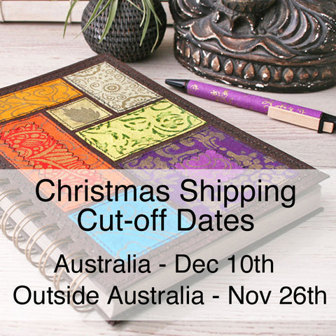 Little Deer Studio cut-off dates for Christmas shipping
