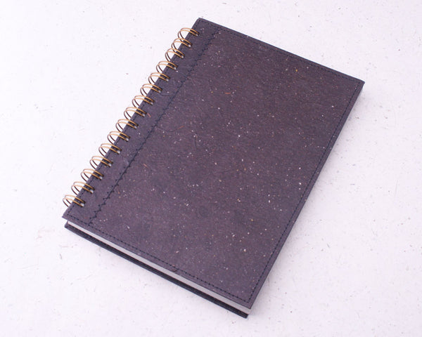 Chocolate Elephant Dung Paper Notebook