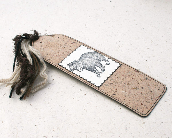 Australiana Bookmark Tasmanian Devil