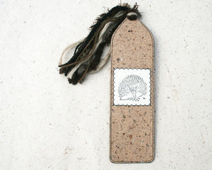 Australiana Bookmark Echidna