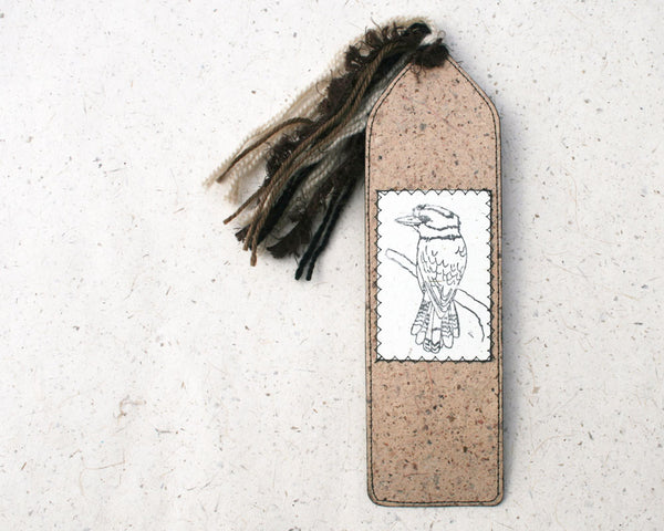 Australiana Bookmark Kookaburra