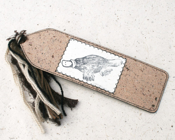 Australiana Bookmark Platypus