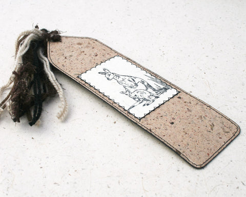 Australiana Bookmark Wallaby