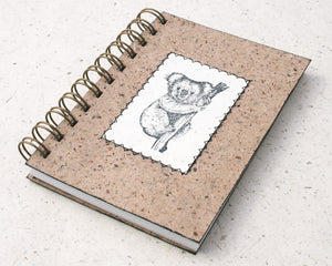 Australiana A6 Blank Notebook Koala