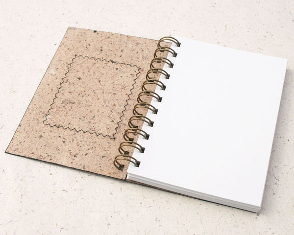 Australiana A6 Blank Notebook Wallaby