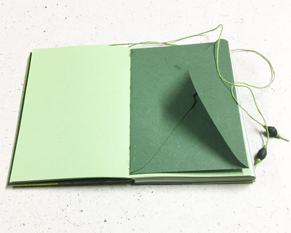 Little Book of Memories Journal Green