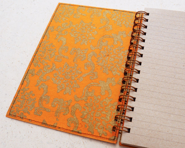 A5 Lined Notebook Golden Royale