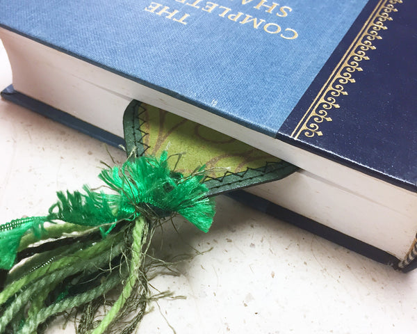 Green Bookmark