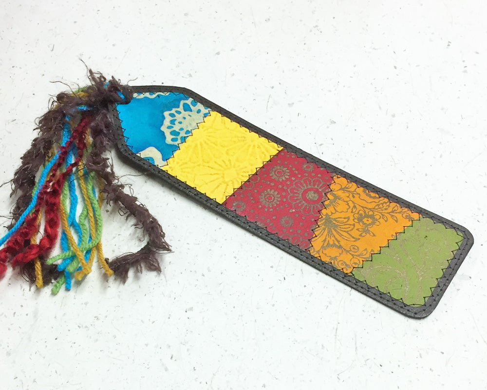 Bookmark mixed colours