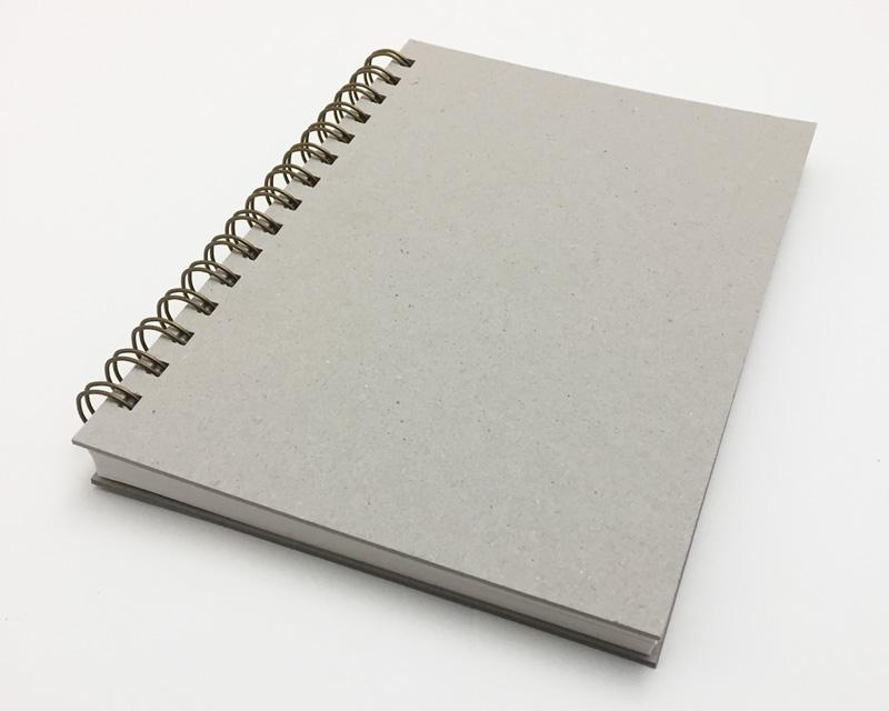 Naked Notebook A5 Lined White Pages