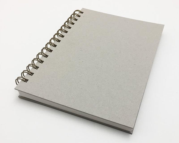 Naked Notebook A5 Blank White Pages