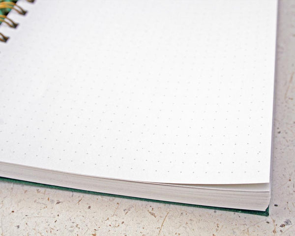 Naked Notebook A5 Dot Grid White Pages