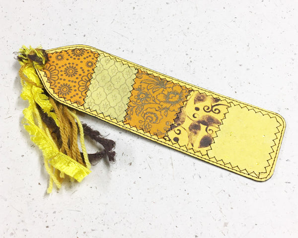 Yellow Bookmark 3
