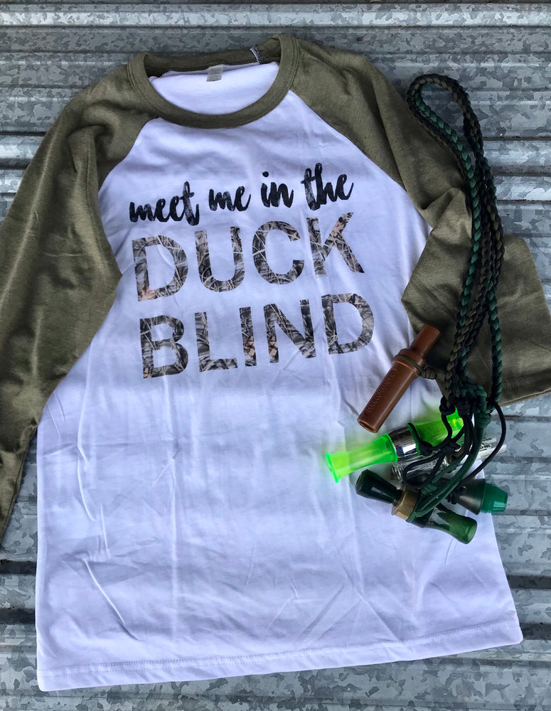 Meet me in the Duck Blind