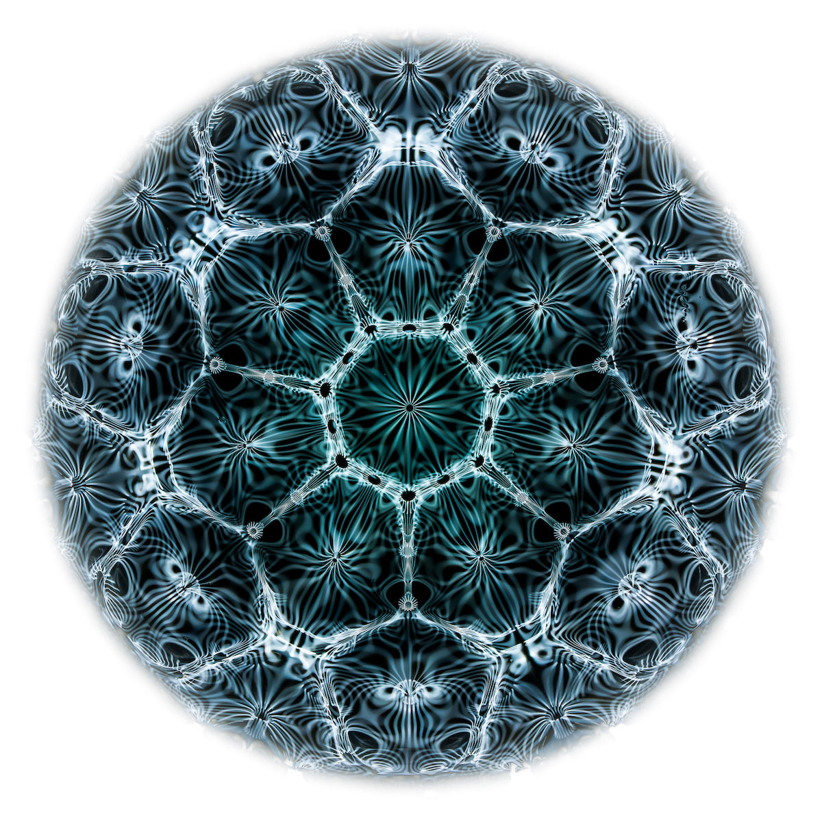 cymatics visible sound photography art print by Jacob Lee Adlington