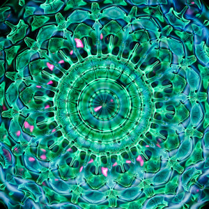 Cymatics photography Print cymascope cymaglyph 52Hz by Jacob Lee Adlington, Journey of curiosity