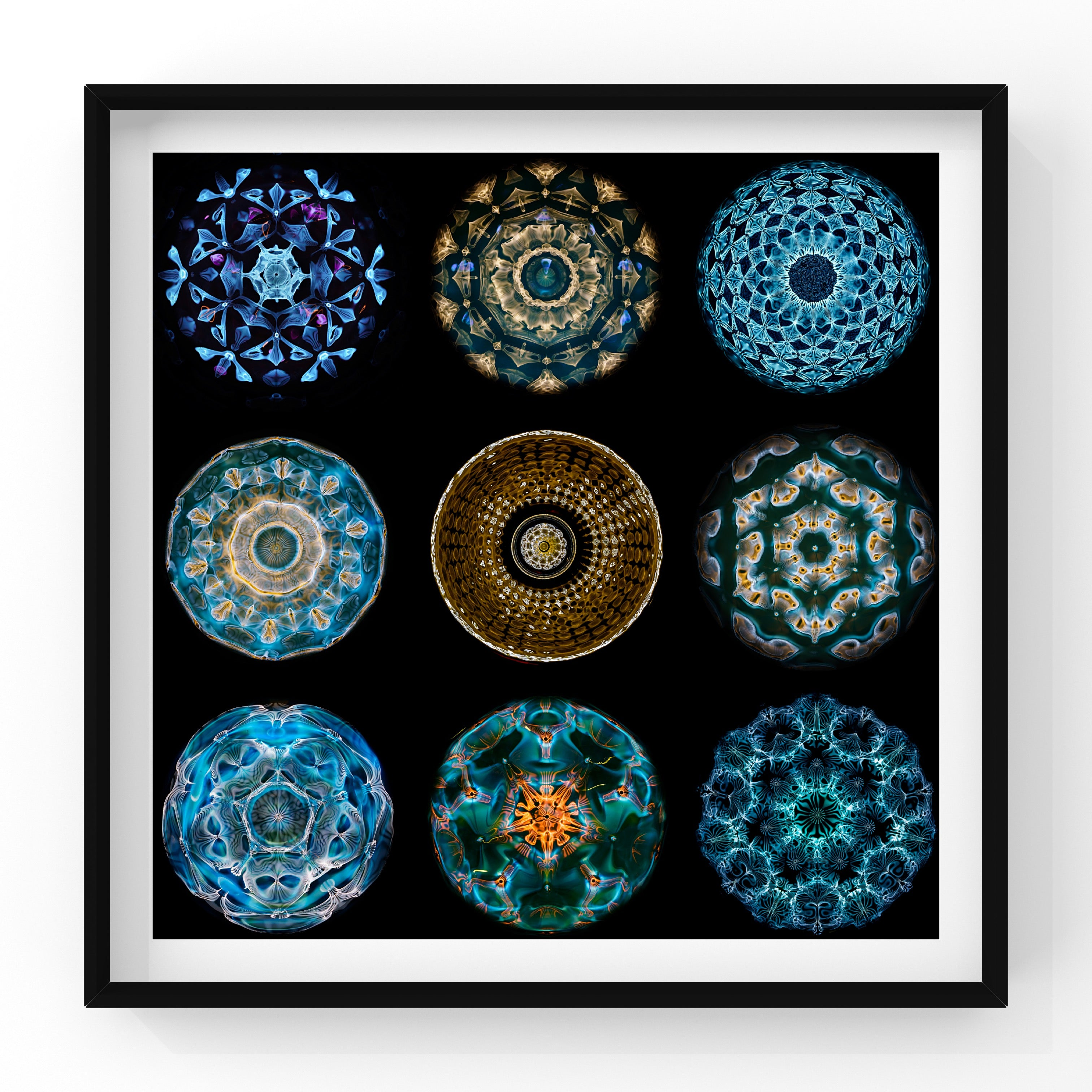 Sound Made Visible - Cymaglyph Mandalas Poster Print