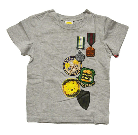 Boys Grey Character T-Shirt
