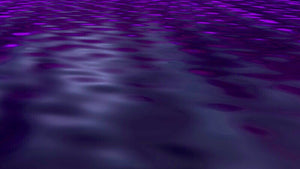 Purple Sea Light - Art Print