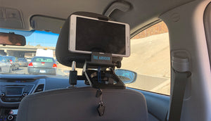 Headrest and Luggage Adapter