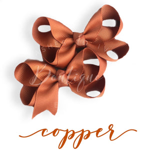 Copper bow (choose size)