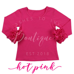 Hot pink icing layering top PRE-ORDER (ETA early Aug)