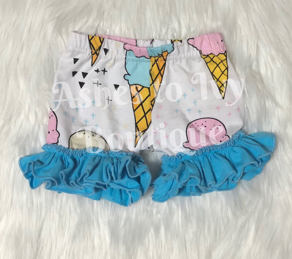 Ice cream Bailey bell bottom shorts