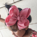 Fantasy rose bow (choose size)