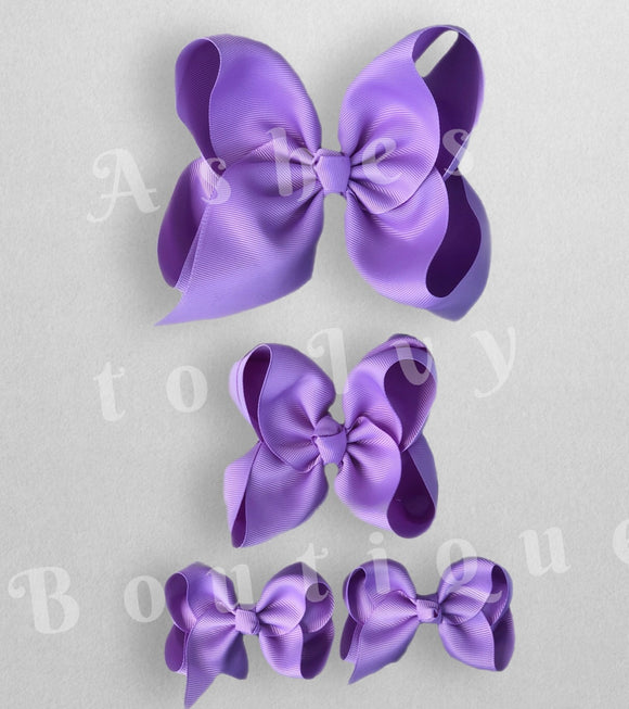 Hyacinth bows (choose size)